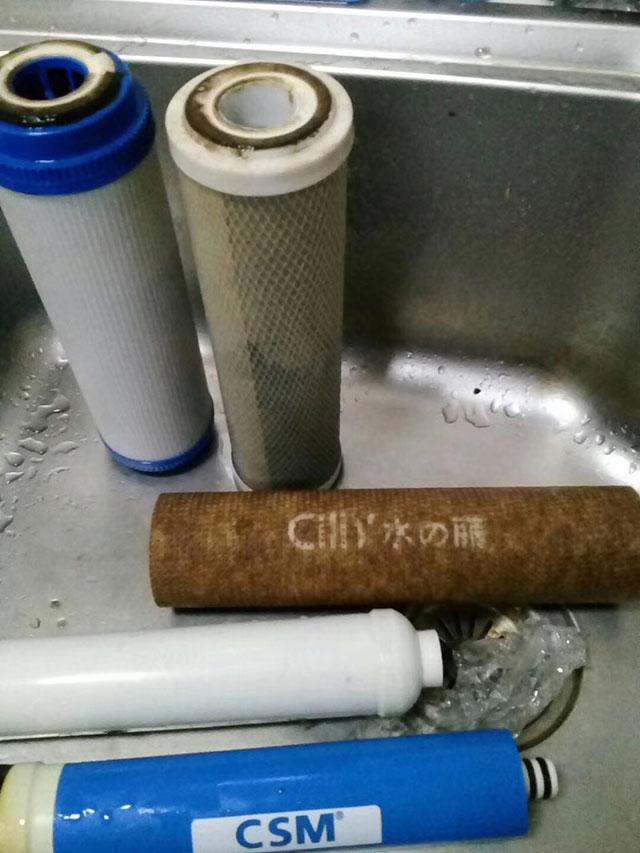 净水器维修经验
